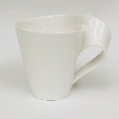 Villeroy & Boch 1748 New Wave White Fine China Coffee Cup Mug Luxembourg