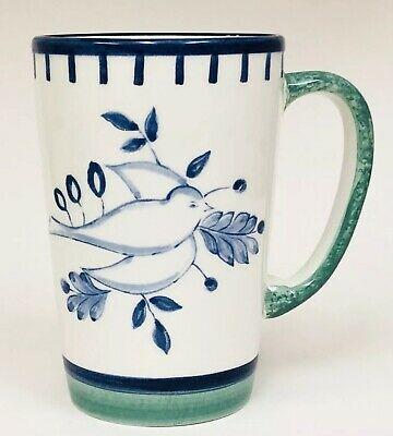 Villeroy & Boch Switch 3 Collection Dove Blue Green White Coffee Mug Cup HTF