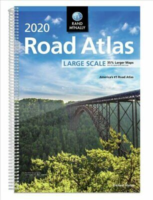 Rand McNally 2020 Road Atlas Large Scale by Rand McNally 9780528021046