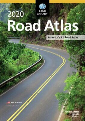 Rand McNally 2020 Road Atlas by Rand McNally 9780528020995 | Brand New