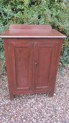 Antique pine cupboard original paint