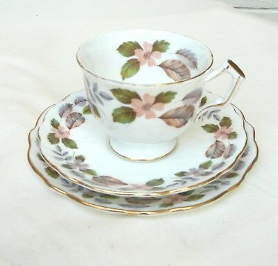 Vintage Aynsley cup saucer and plate Trio