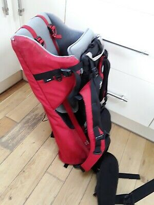 BUSHBABY CARRIER BACKPACK HIKING SUPER LIGHTWEIGHT Great Condition
