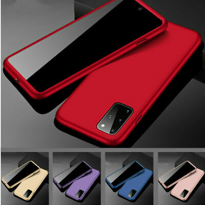 For Samsung Galaxy S7 S8 S9 S10 Plus Luxury Slim Shockproof Hybrid Case Cover
