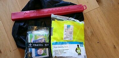 First Aid Kit Hi Vis Vest Warning Triangle GE Capital