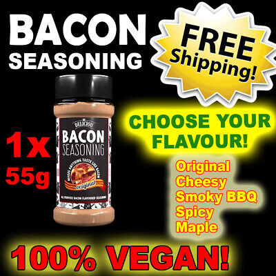 Bacon Seasoning 1 Bottle Choose Flavour FREE SHIPPING ~ Deliciou BBQ EOFY SALE!