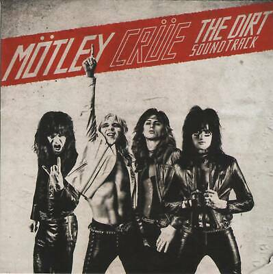 MOTLEY CRUE - THE DIRT SOUNDTRACK (2019) Glam Metal CD +FREE GIFT