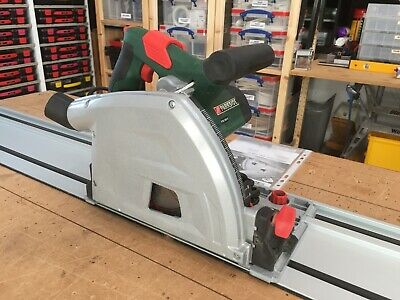 Parkside Plunge Saw PTSS 1200 A1 165mm 230V complete with 2x700mm Guide Rails