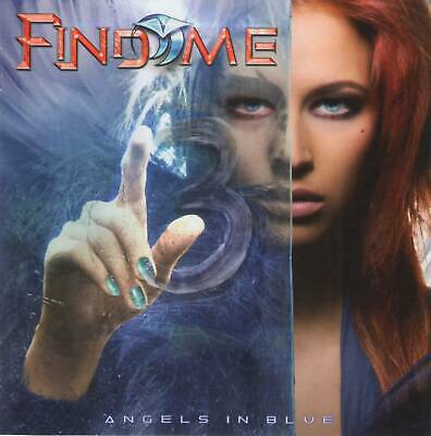 FIND ME - ANGELS IN BLUE (2019) AoR Hard Arena Rock CD Jewel Case+FREE GIFT