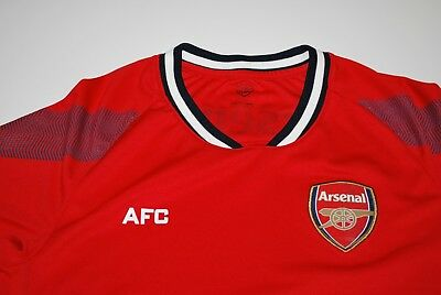 Arsenal Football Club (AFC) Red Licensed Shirt in USA Small Soccer