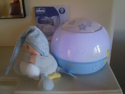 Chicco Goodnight Stars Projector Baby Night Light with Music Blue Sleeping Aid