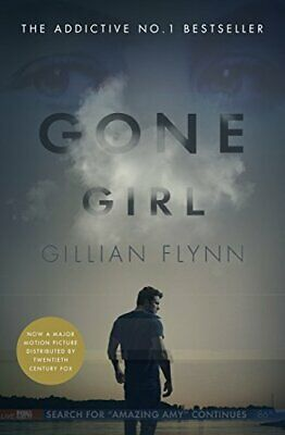 Gone Girl by Flynn, Gillian, Paperback Used Book, Very Good, FREE & Fast Deliver