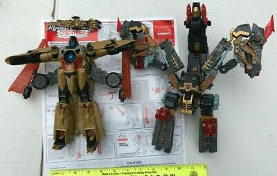 (2) 2006 Hasbro Transformers Cybertron Galaxy Force Vector Prime +1 More Lot