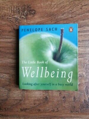 """""""The Little Book of Wellbeing"""" by Penelope Sach - Paperback, Excellent Condition"""
