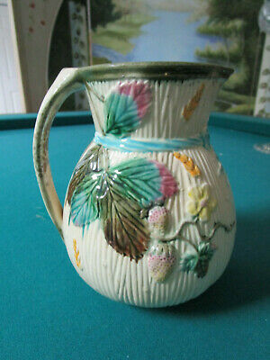 """Antique Clifton Pottery Vase Jug Pitcher 6 1/2"""" Tall"""