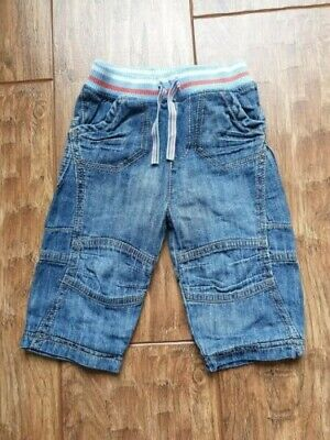 Marks and Spencer (M&S) Blue Denim Jeans (6 - 9 Months) - Excellent Condition