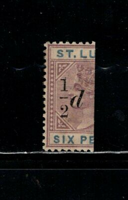 Item No. A6978 – St. Lucia – Scott # 41 – MH