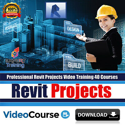 Professional Revit Projects Video Training Tutorials 40 Courses 18 GB DOWNLOAD