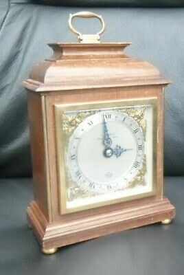Vintage 'Elliot of London' Mantle Clock -retailer Hall Stratford-on-Avon.