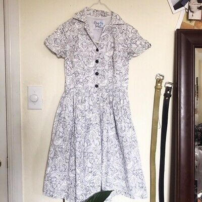 bd1e3d96f9 RETRO VINTAGE INSPIRED mod cloth sailor style dress-pockets