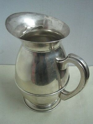 Antique  silvered metal jug  Eberkoc Prat 90