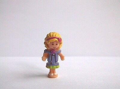 Vintage Polly Pocket Figure for sweet roses 1996 RARE, good condition