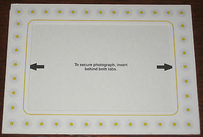 Kodak Photo Postcard - SPRING - Mailable, Flaps on back open into Easel