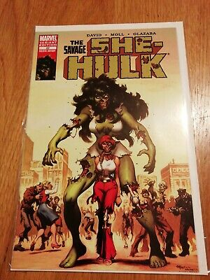 She-Hulk #22 Zombie Variant Marvel Nm