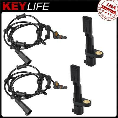 4x ABS Wheel Speed Sensor OEM Replacement Rear /& Front For Porsche Cayenne 03-10