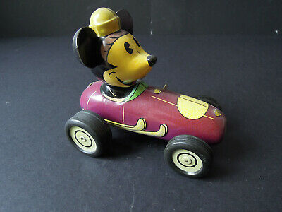 Disneyana Blechspielzeug - Micky-Mous - Retro Toy Collection - China
