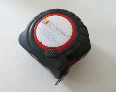 Large 5M / 16 ft Tape Measure RUBBER COATED Heavy Duty Metric/Imperial