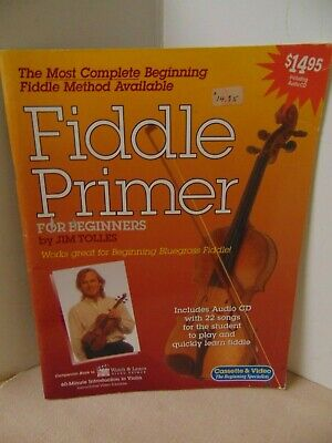 Fiddle Primer For Beginners by Jim Tolles Softcover 65 pages