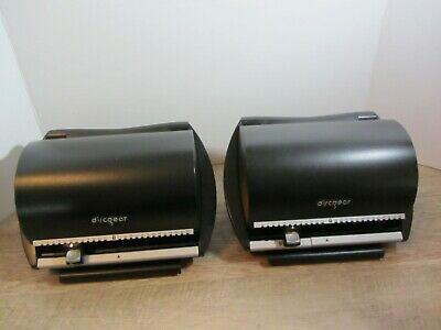 2 BLACK  Discgear 50 CD Storage Case EUC