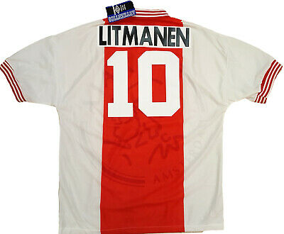 Litmanen Ajax Umbro Home UEFA champions League Final 1995-96 shirt jersey *NEW*