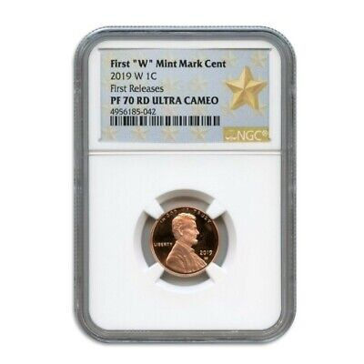 2019 W 1C Lincoln Cent Ngc Pf70 Rd Ultra Cameo First Releases 4956185-042