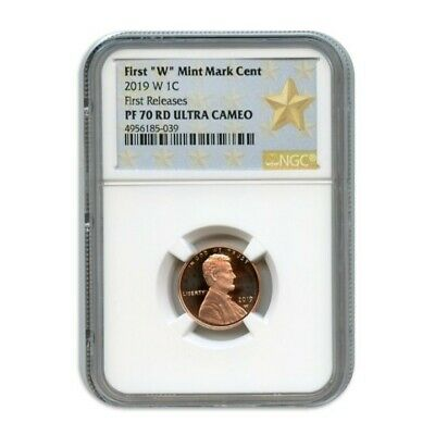 2019 W 1C Lincoln Cent Ngc Pf70 Rd Ultra Cameo First Releases 4956185-039