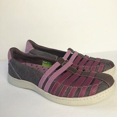 NEW SKECHERS BOBS GLIM GLAM SHOES GIRLS 5 WOMENS 7 PURPLE//BLUE LOAFERS SLIP ONS