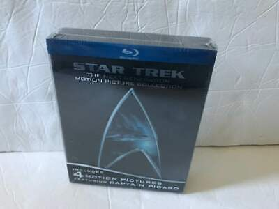 Star Trek The Next Generation Motion Picture Collection Tng Brand New!!! Blu-Ray
