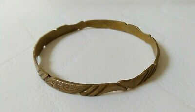 rare ancient viking bronze bracelet artifact quality very Stunning