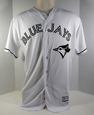 05d913cd2 2017 Toronto Blue Jays Joe Smith  38 Game Used White Memorial Day Jersey