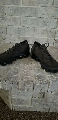 Nike Air VAPORMAX Flyknit Running Shoes BLACK 849558 Men Size 9.5