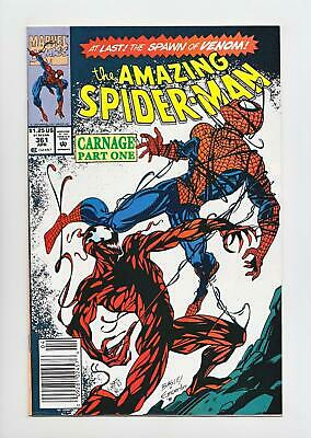 Amazing Spider-Man #361 1st Full Appearance Carnage (Marvel 1992) NM- 9.2