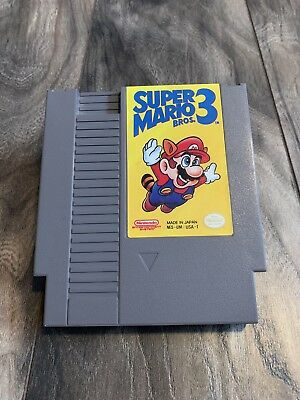 Super Mario Bros 3.  Nintendo.  Nes.  Tested, Authentic!