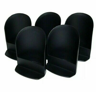 Tupperware NEW set of 5 Round Flour, Sugar Canister ROCKER SCOOP Cosmos Black