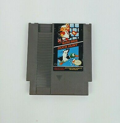 Super Mario Bros Duck Hunt Nintendo NES Classic Game Good