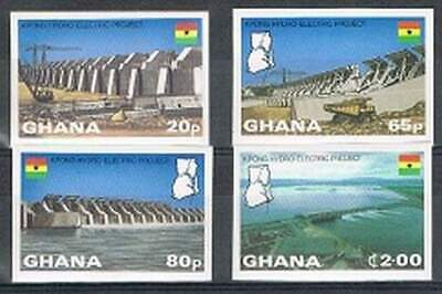 Ghana postfris 1982 MNH 936-939 - Kpong Hydro-Electric Project