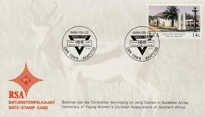 Data-stamp card RSA 1986 S93 - Young Woman's Christian Association (08)