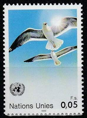 Nations Unies - Geneve postfris 1986 MNH 142 - Vogels Meeuw / Birds