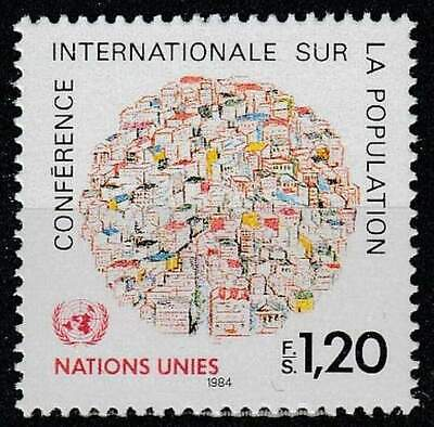 Nations Unies - Geneve postfris 1984 MNH 119 - Bevolkingsconferentie