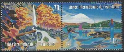 Nations Unies - Geneve postfris 2003 MNH 470-471 - Zoetwater